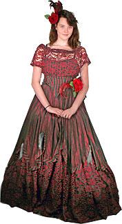 Victorian/Crinoline Woman #2 Costume