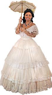 Victorian/Crinoline Woman #10 Costume