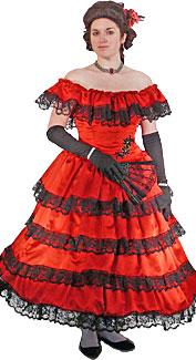 Victorian/Crinoline Woman #19 Costume