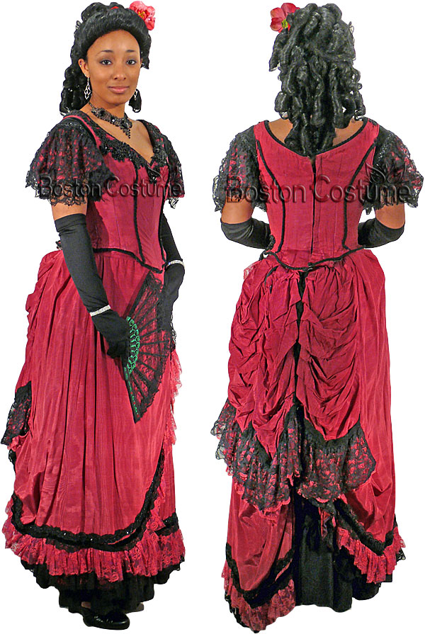 Victorian/Bustle Woman Costume at Boston Costume