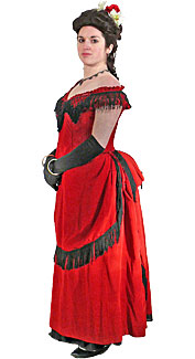 Victorian/Bustle Woman #8 Costume
