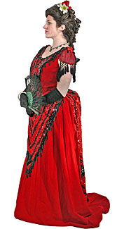 Victorian/Bustle Woman #9 Costume