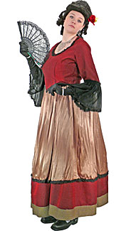Victorian/Bustle Woman #12 Costume