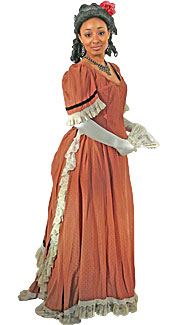 Victorian/Bustle Woman #13 Costume