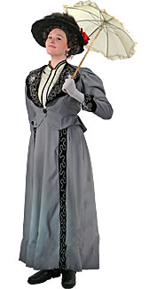 Victorian/Edwardian Woman #2 Costume
