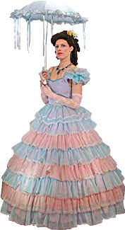 Victorian/Crinoline Woman #17 Costume
