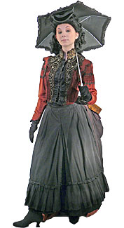 Victorian/Bustle Woman #11 Costume