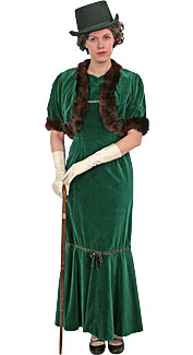 Victorian/Edwardian Woman #4 Costume