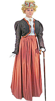 Victorian/Edwardian Woman #8 Costume