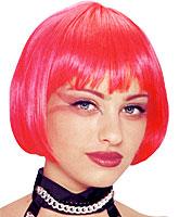 Franco Sassy Pink Wig