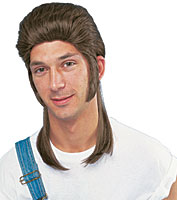 Franco Mullet Wig