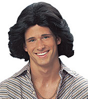 Franco 70's Feathered Wig