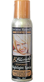 Gold Blonde Temporary Hair Spray