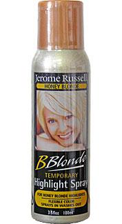 Honey Blonde Temporary Hair Spray
