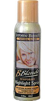 Natural Blonde Temporary Hair Spray