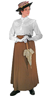 Victorian/Edwardian Woman #21 Costume