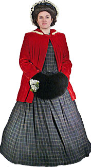 Victorian Caroler #2 Costume