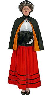 Victorian Caroler #3 Costume