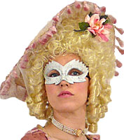 Glitter Princess Masquerade Mask