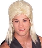 Rubies Mullet Wig in Blonde