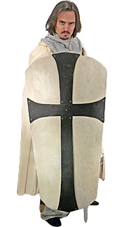 Large Gothic Cross Shield