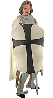 Small Gothic Cross Shield