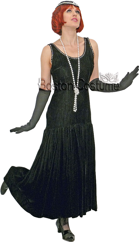 1920s Formal Wear Women 1920's formal woman costume