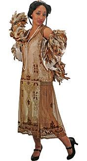 1920's Formal Woman Costume