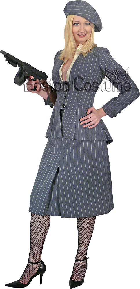 Gangster Moll Suit Costume