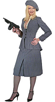 1930's Gangster Moll Costume