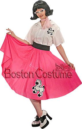 1950's Poodle Skirt Girl Costume