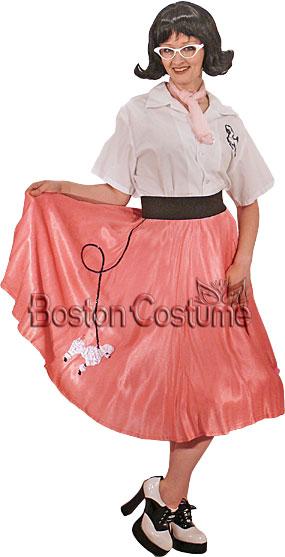 1950's Poodle Skirt Girl