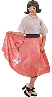 1950's Poodle Skirt Girl
