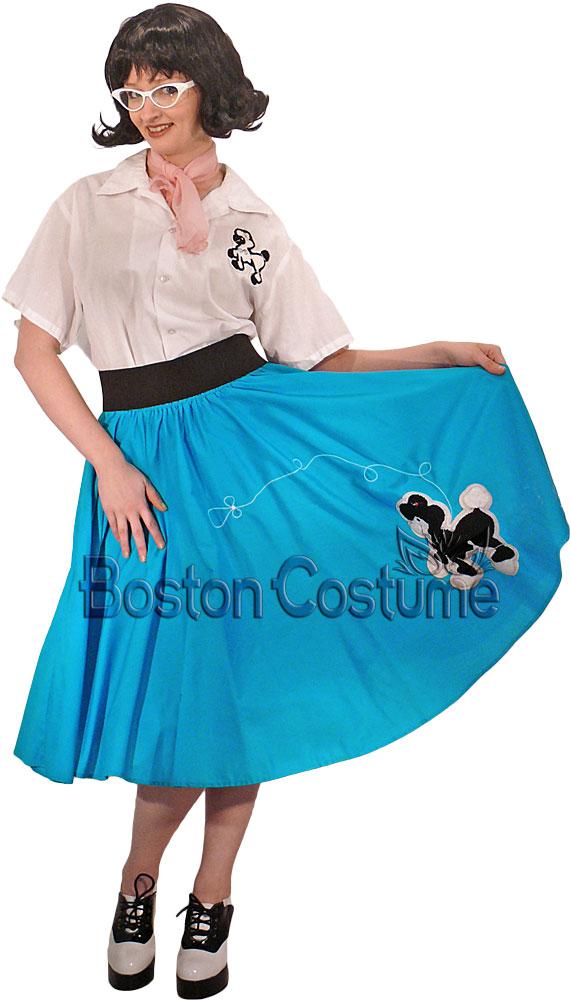 1950s Poodle Skirt Girl