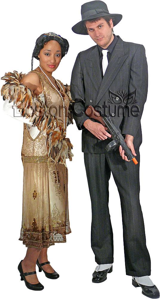 1920s couple costumes at boston costume