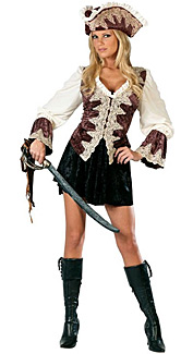 Royal Lady Pirate Costume