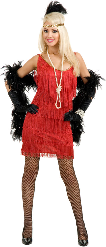 Fashion Flapper Costume  sc 1 st  Boston Costume & Fashion Flapper Costume in Black at Boston Costume