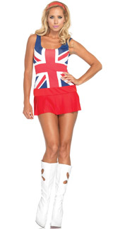 Cheeky Brit Costume