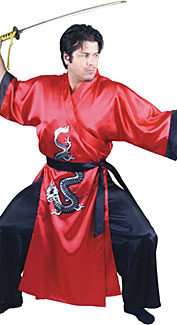 Samurai Dragon Master Costume