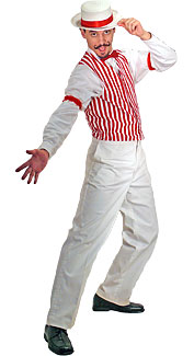 Barbershop Quartet Costume : Patriotic Barber Costume at Boston Costume