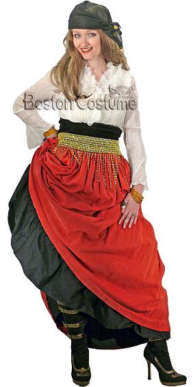 Pirate Woman Costume