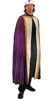 Purple Royal Cape
