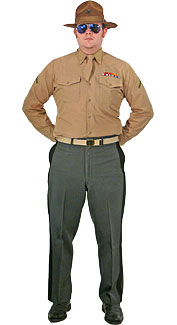 U.S. Marine Corps Drill Instructor Costume