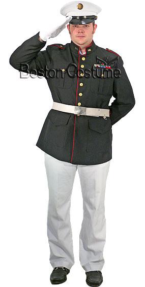 Us marine corp dress blues uniform