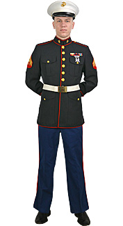U.S. Marine Corps Blue Dress Uniform