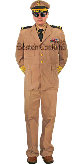 World War II U.S. Navy Admiral Costume