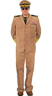 World War II U.S. Navy Admiral Costume