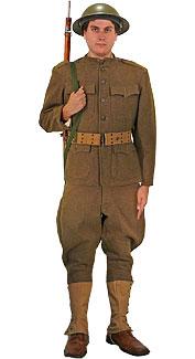 World War I U.S. Doughboy Costume