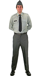 U.S. Army Officer Green Class A Uniform