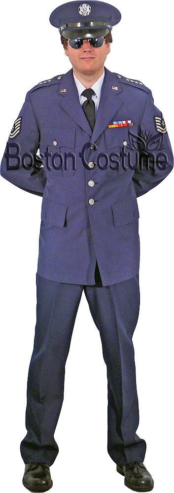 Us Air Force Service Dress Uniform At Boston Costume
